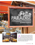 Patio Paradise - Jewish Review article pg 1 - Spring 2015