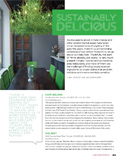 Sustainably Delicious - Jewish Review - Winter 2016 Winter - pg 1