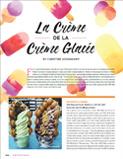 La Crème de la Crème Glacée - Jewish Review Summer 2016 - pg 1