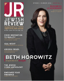 Jewish Review - Spring 2014