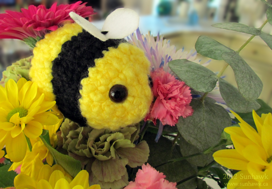 Sunhawk Bee Plushy